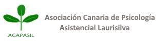 """Logo de la asociación """"Asociación Canaria de Psicología Asistencial Laurisilva"""""""